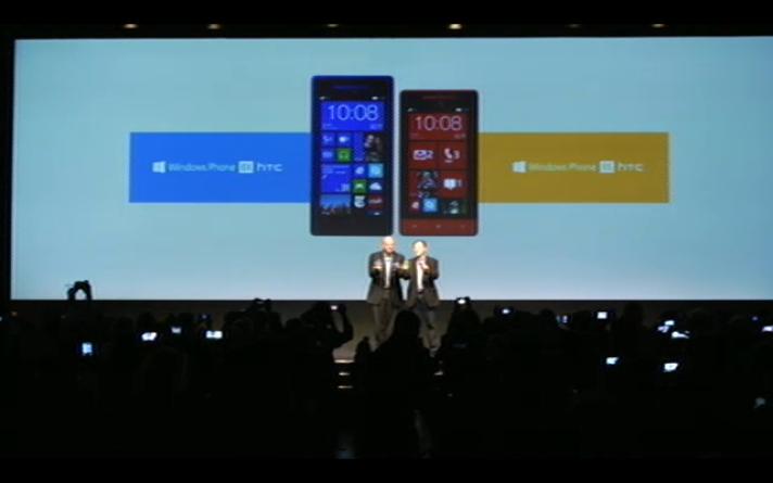 HTC ja Microsoft esitlesid täna uusi Windows Phone 8 nutitelefone