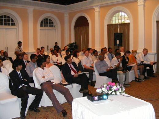 Sri Lanka visiidil oli huviorbiidis logistika- ja IT valdkond