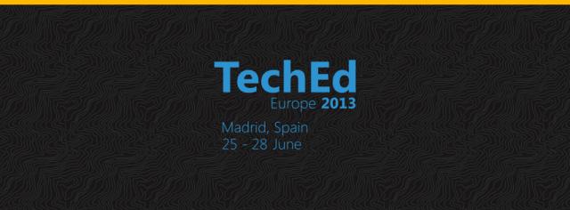 TechEdEurope2013
