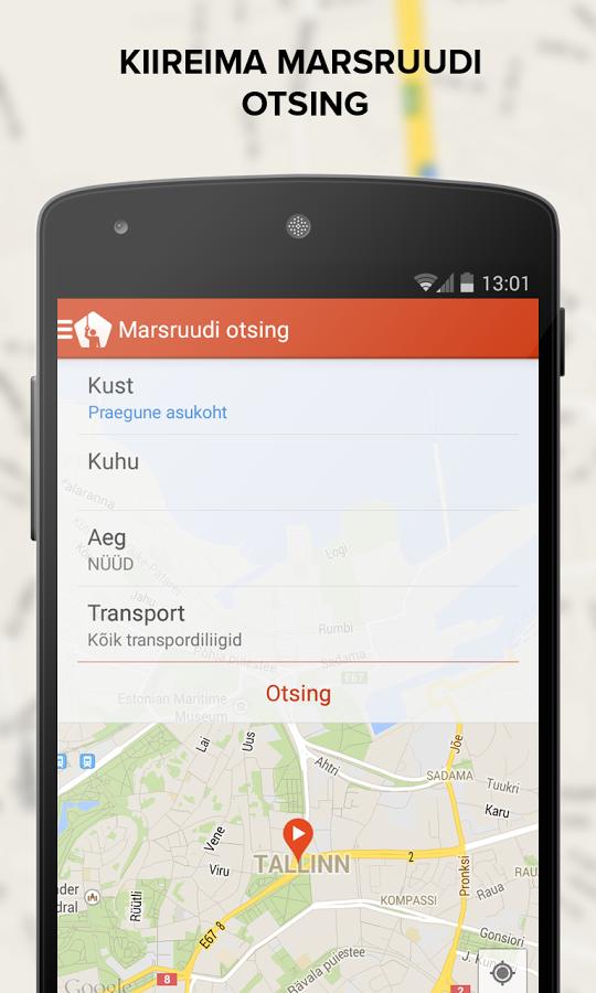 Trafi Eesti marsuudi otsing