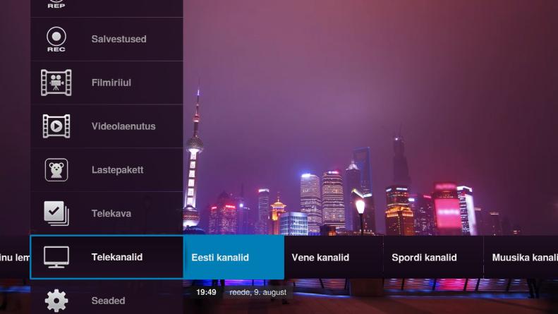Elioni uues nutiTV-s saab salvestada enam kui 130 kanalit