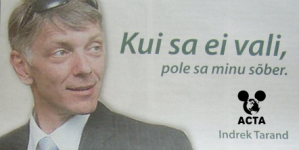Indrek Tarand: Eesti peaks ACTA-le alla kirjutama