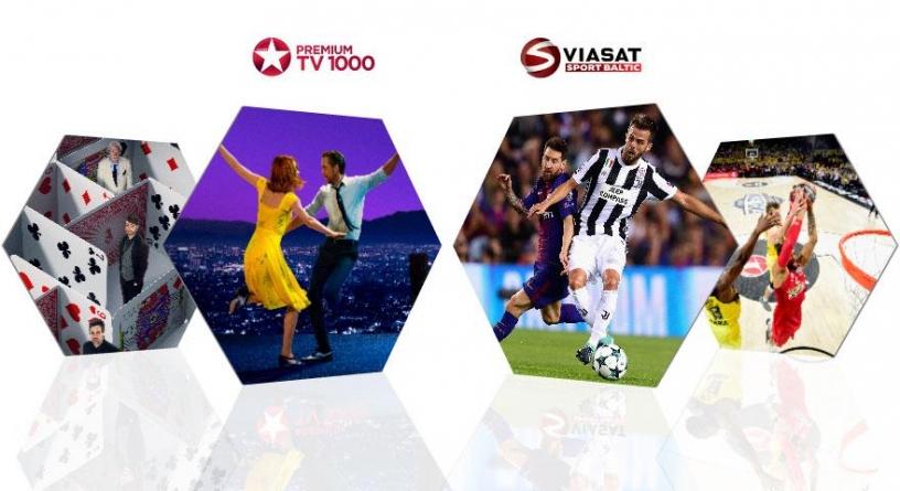 Viasat Sport Baltic näitab tänasest spordiülekandeid 24/7 HD-kvaliteedis