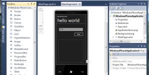 Windows Phone 7 rakenduse tegemine on lihtsamast lihtsam