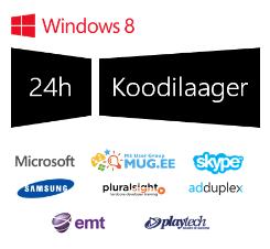 Windows 8 24h tasuta koodilaagrid Tartus ja Tallinnas