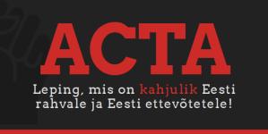 ACTA-vastane protest (Tallinnas, Vabaduse väljakul, 11.02)
