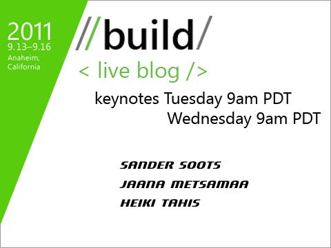 Build Liveblog