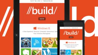 Homme õhtul Build 2012 avakõne ja kolmapäeval Azure Mobile Services