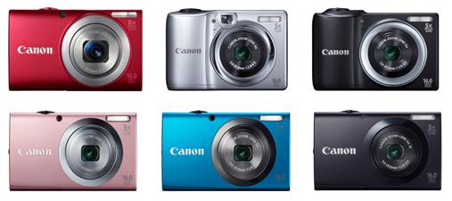 Canon toob turule uue valiku PowerShoti A-sarja kaameraid