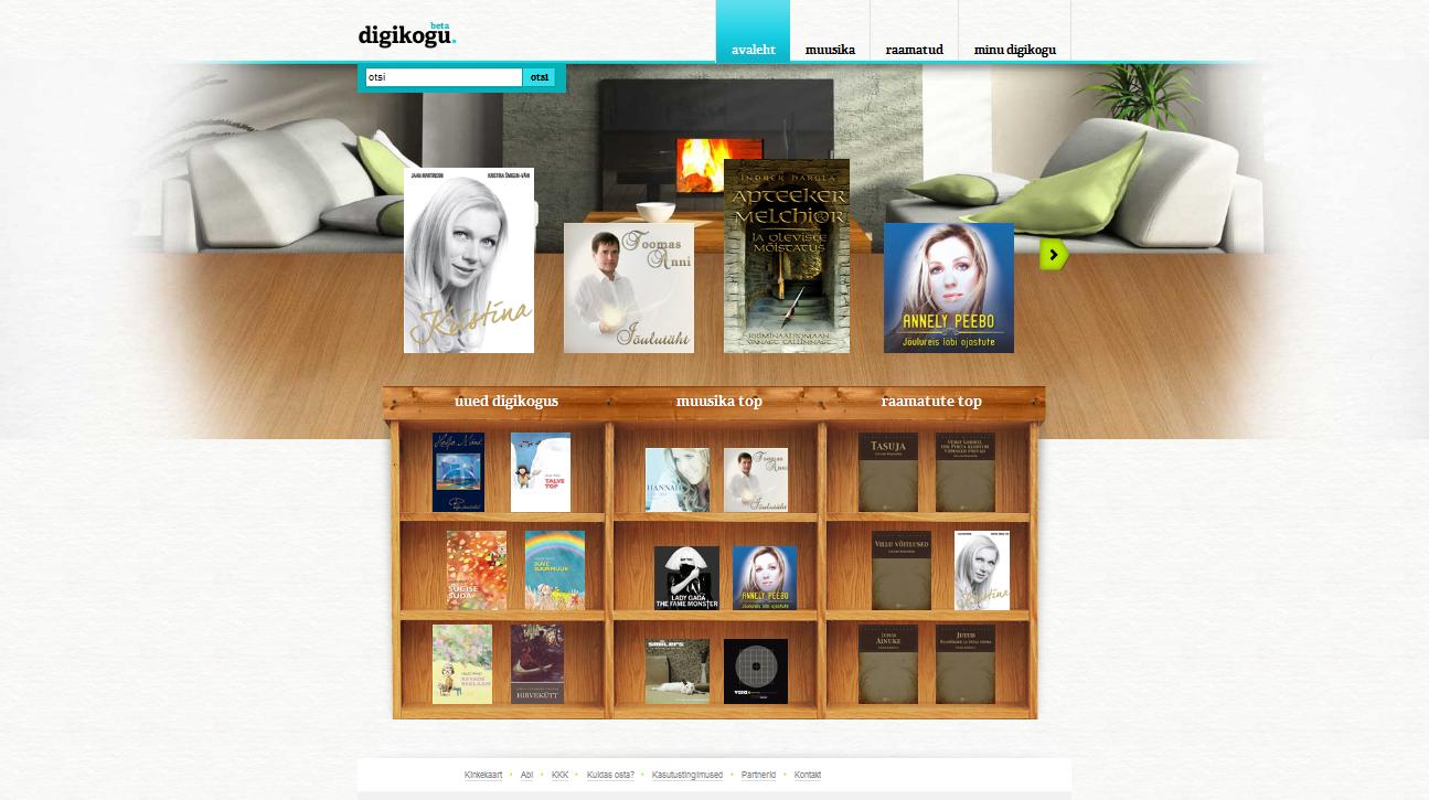 Elion avas Eesti suurima digitaalse muusika ja raamatute ostukeskkonna
