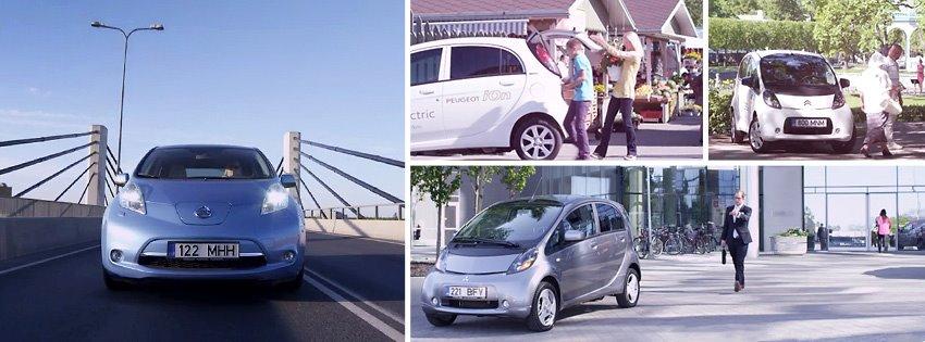 Eestis käivitub elektriautode kiirrenditeenus