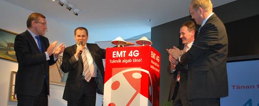 4G osakaal mobiilses andmesides on üle neljandiku