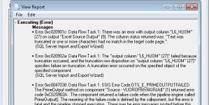 SQL Serverisse Excelist importimine annab vea