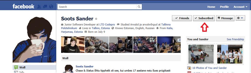 Facebookis saab nüüd ka teisi jälgida