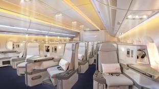 Finnairi uue lennuki A350 XWB salongi sisekujundus pälvis kõrge tunnustuse