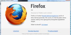 Kas Mozilla Firefox sobib endiselt ärikeskondadesse?