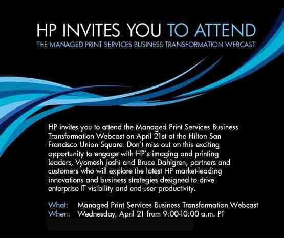 HP juhitud printimisteenuste (MPS) valdkonna muutused