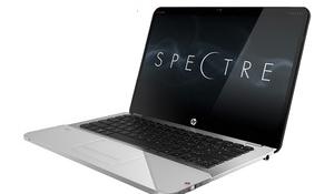 HP klaasist disainiga sülearvuti ENVY 14 Spectre