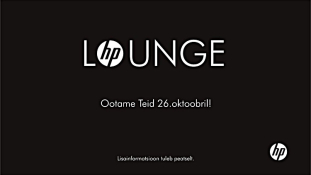 HP Lounge on tulemas