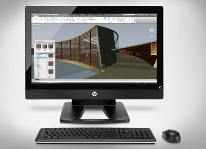 HP esitles esimest 27-tollise ekraaniga All-in-one tööjaama HP Z1