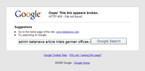Google toolbar nüüd veelgi halvem