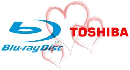 Toshiba läheb üle Blu-Rayle