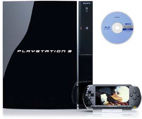Blu-Ray, PS3, PSP