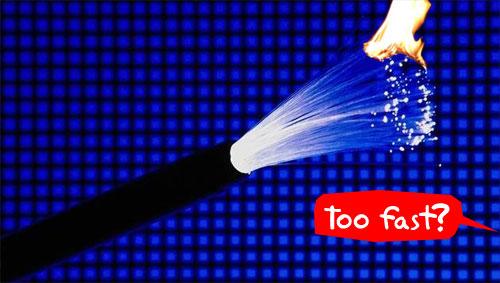 16.4 Tbps kiirune internet – Liiga kiire?