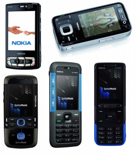 Nokia tutvustas uusi telefone