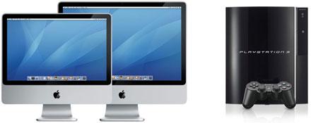 Mac, PS3