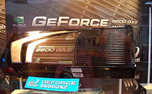 NVIDIA's GeForce 9800 GX2