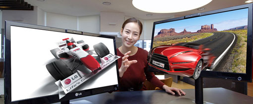 LG laiendab prillivabade 3D kuvarite valikut