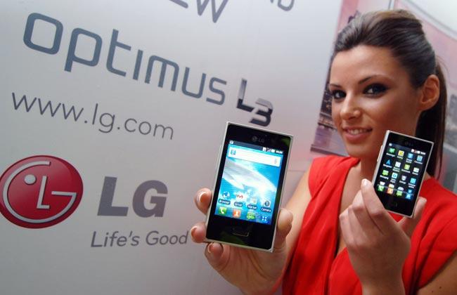 Uue L-Style disainiga LG Optimus L3 nüüd ka Eestis