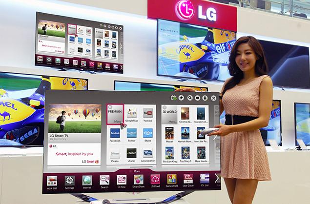 LG tutvustab CES elektroonikamessil uut Ultra HD teleriseeriat