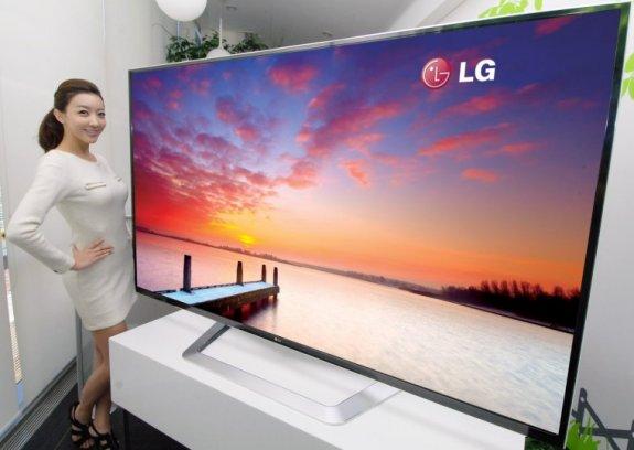 LG toob turule maailma esimese 84-tollise 3D UD teleri