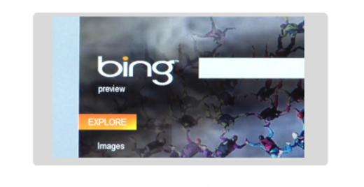 Live otsing on nüüd Bing