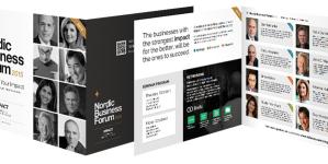 """Haruldane võimalus: tule vaata Põhjamaade suurimat ärifoorumit """"Nordic Business Forum"""" Tartu ülikoolis"""