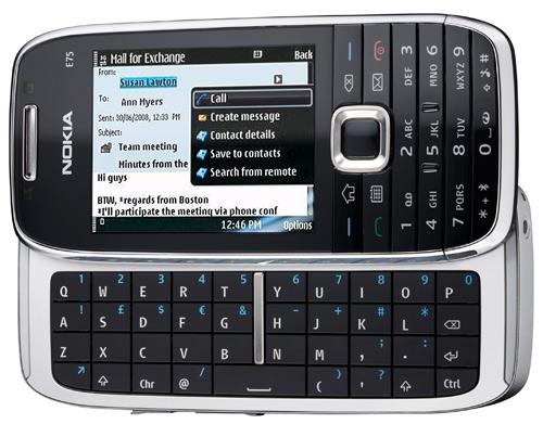 Nokia E75 ja E55