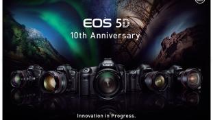 Canon tähistab EOS 5D seeria 10. aastapäeva