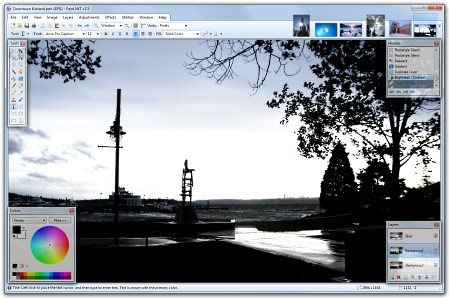 Paint.NET, parim alternatiiv Fotopoele või Gimpile, sai just veelgi paremaks