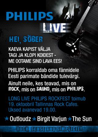 Juba täna – Philips festival