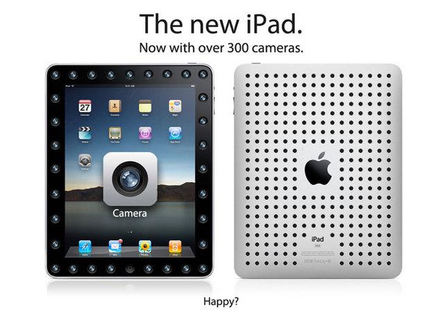 Apple iPad, peale haibi kadumist