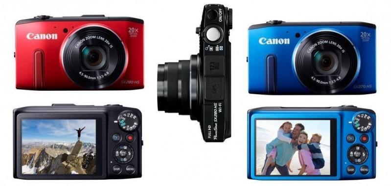 Canoni uued PowerShot SX280 HS ja PowerShot SX270 HS kaamerad