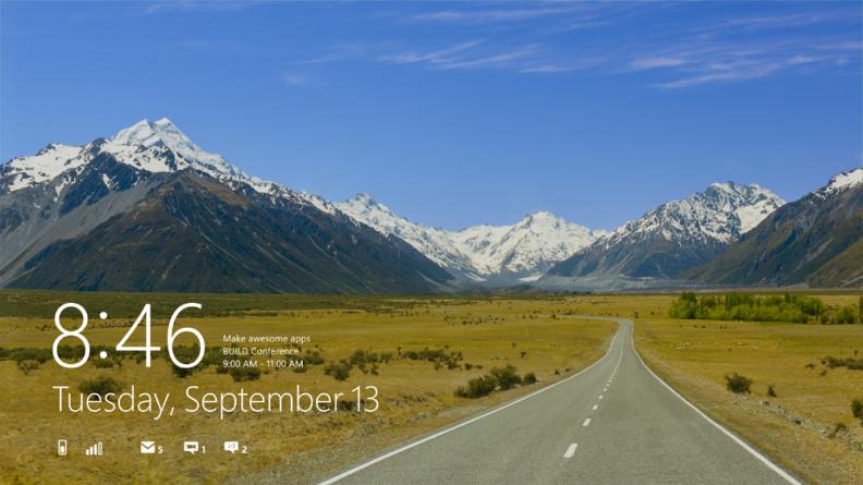 Windows 8 (Developer Preview) eelvaade