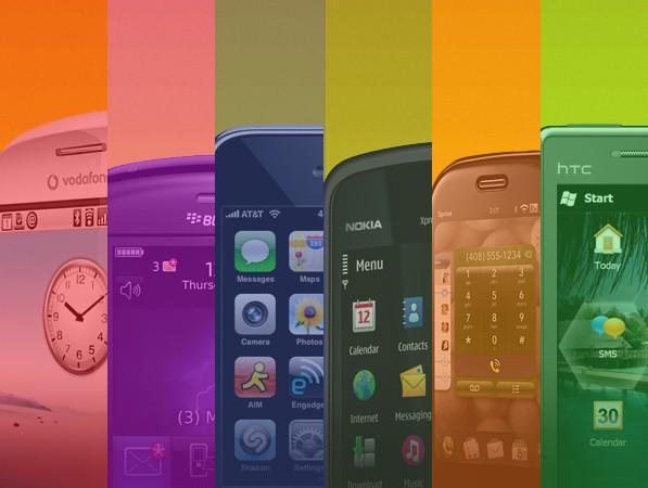 Nutitelefonide operatsioonisüsteemida võrdlus.