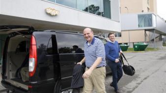 Steve Ballmer külastas Skype'i, hiljem liitus külastusega Eesti President