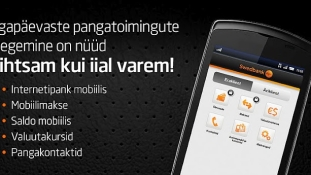 Swedbanki uuenenud mobiilipank – kiirem sisselogimine ja sularahaautomaatide otsing Google StreetView abil