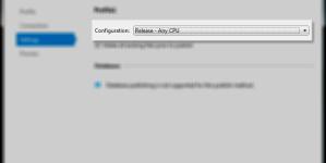 Visual Studio 2010 Publish peale uuendust ei tööta