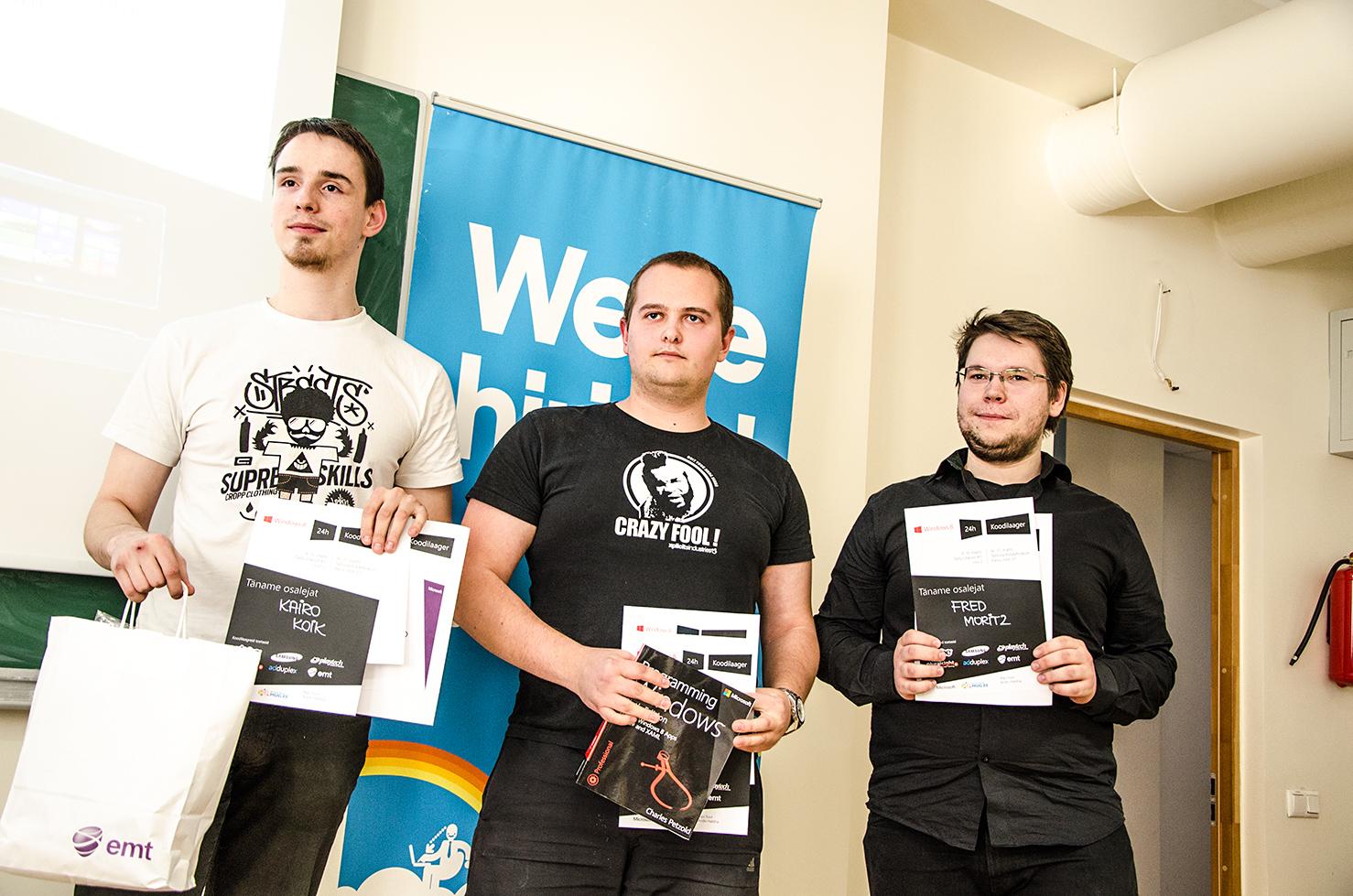 Tallinna Windows 8 koodilaager suutis tartlaste poolt esitatud väljakutsele vastata