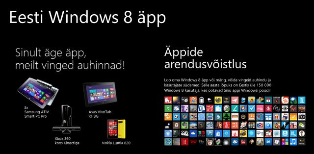 Windows 8 Äppi võistlus